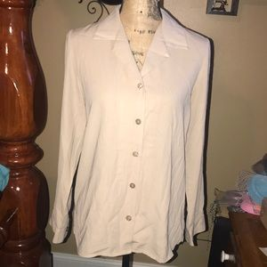 Nice  Sag Harbor Women's Dress Shirt